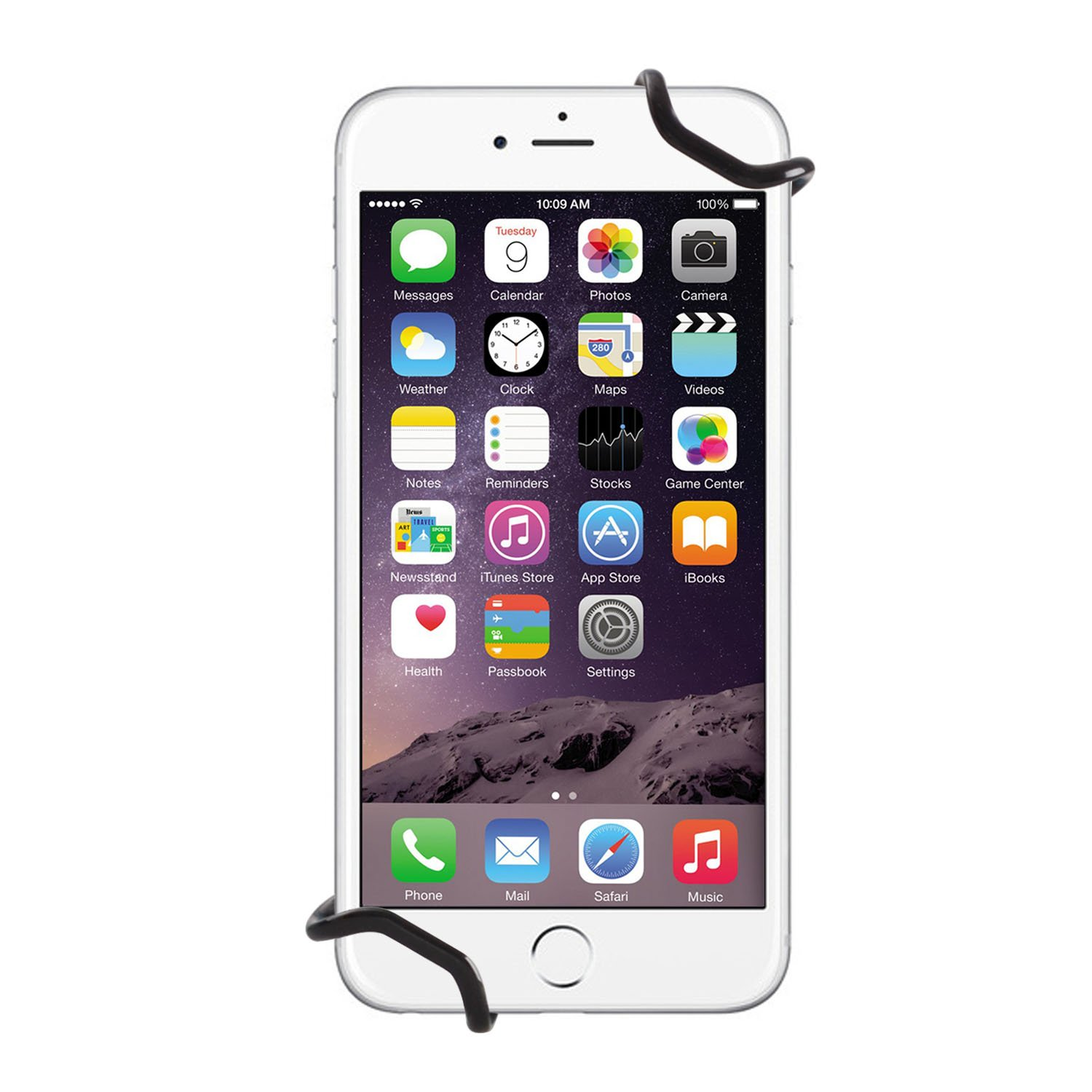WANPOOL Universal Non-slip Hand Strap Holder Support with Adjustable Leather Belt Stand Plus // 7 Plus for use with iPhone 6 // 6S Samsung Galaxy S4// S5// S7 and More WP-STANDHOOK5 iPhone SE HUAWEI Mate 9