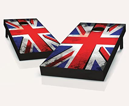 Admirable Amazon Com England British Punk Flag Cornhole Boards Pdpeps Interior Chair Design Pdpepsorg