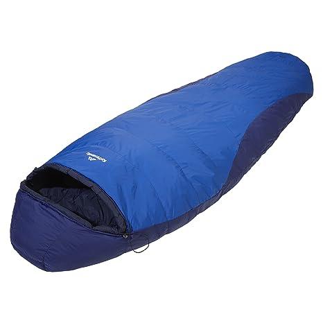 Kathmandu Columbus v7 Prontotec semi-rectangular pato abajo saco de dormir Morado azul oscuro Talla