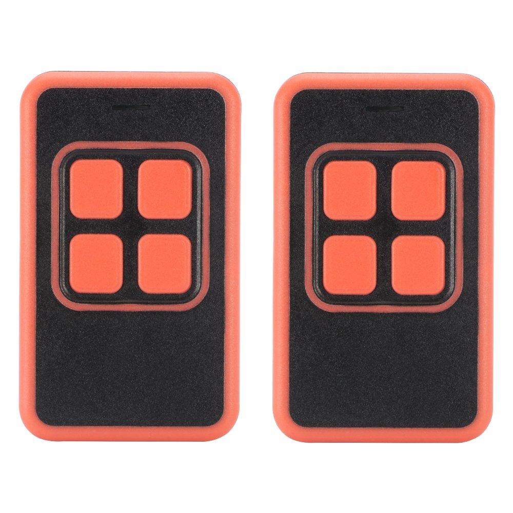 kreema 2pcsリモートコントロールキーFob 433 mhzコードクローニングユニバーサル送信機クリッカーyet2113ガレージのドアゲートアラームスマートホームコントロール B07DLZMWR5