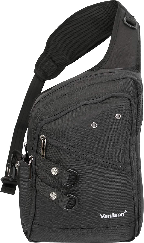 Vanlison Crossbody Sling Bag Backpack