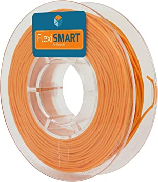 FlexiSMART Naranja 250 g. Filamento Flexible TPU 2.85 mm para Impresora 3D - Flexible Filament for 3D Printing - TPE Filament, TPU Filament, Elastic ...