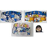 Kid's Face Mask - Assorted Designs 2 to 5 YO (2pc)