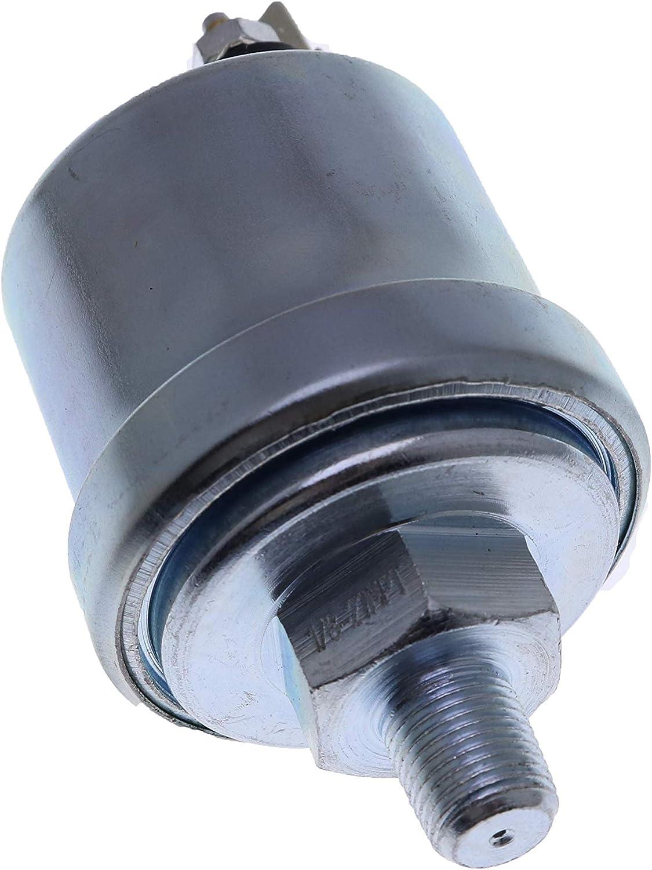 JEENDA Oil Pressure Sender Sending Unit 0-100psi 240-33 ohms Output 1//8-27NPT 5/% FS