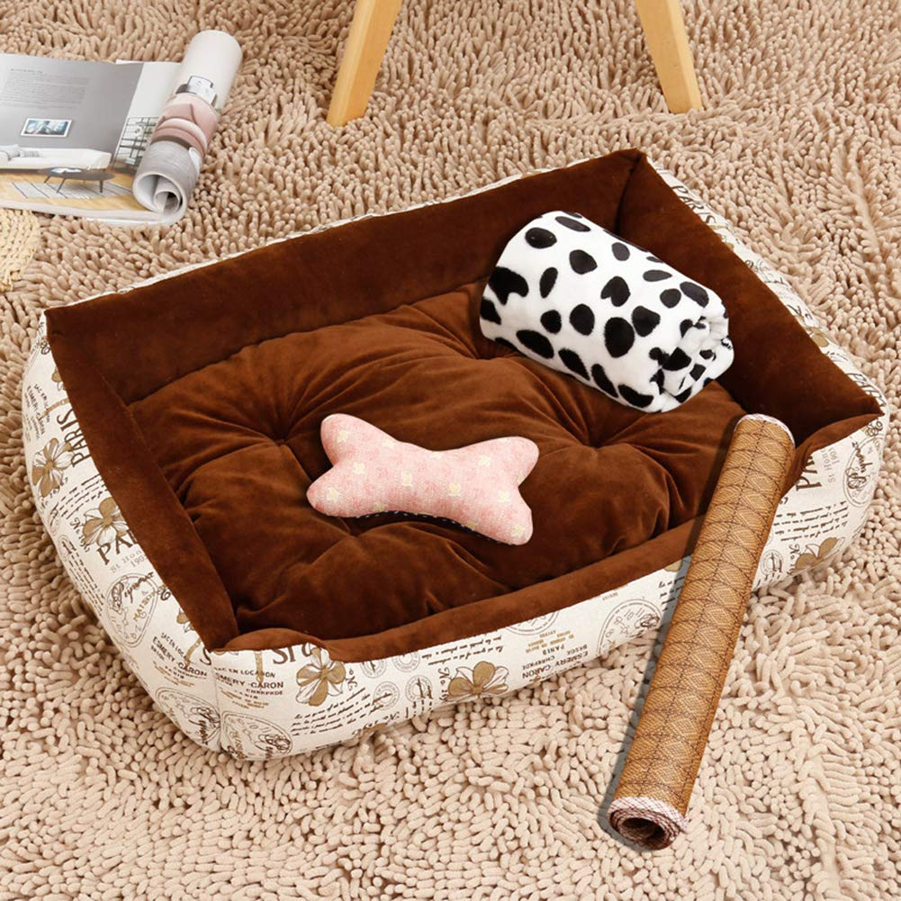E 705515cmPet Bed,Dogs & Cats Ultra Comfort Washable Dog Bed Suitable for Small and Medium Dog 5 Flower Patterns are Available