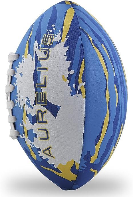 Aurelius niños neopreno suave agua Rugby Balón de fútbol americano ...
