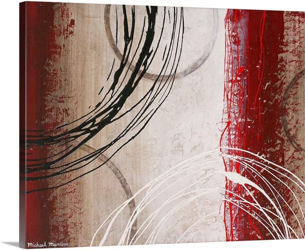 Tricolored Gestures I Canvas Wall Art Print, Artwork