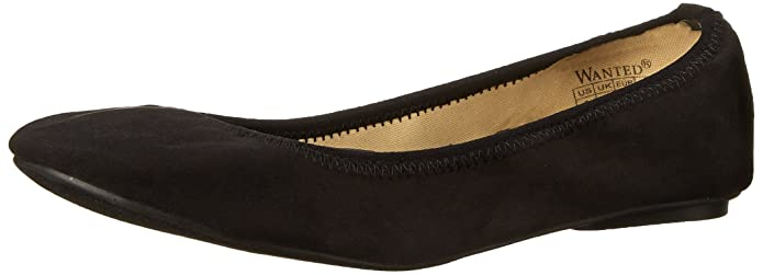 Retro Vintage Flats and Low Heel Shoes Wanted Shoes Womens Omni Ballet Flat $20.22 AT vintagedancer.com