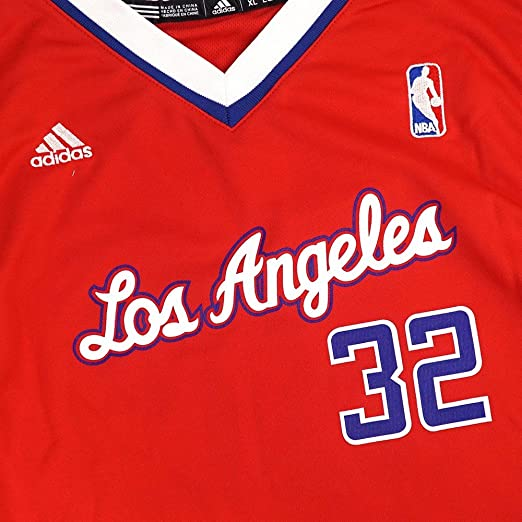 41f0b4c801c Amazon.com : Blake Griffin Los Angeles Clippers NBA Adidas Red Official  Away Road Replica Basketball Jersey For Youth : Sports & Outdoors