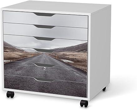 Skin para IKEA Alex escritorio-cajonera de 6 cajones | Juego de ...