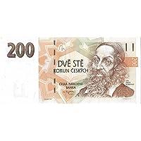 Rare Czech Republic 200 Korun Note