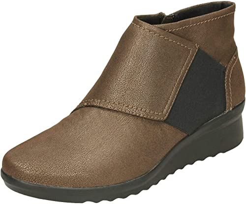 Clarks Ladies Ankle Boots Caddell Rush