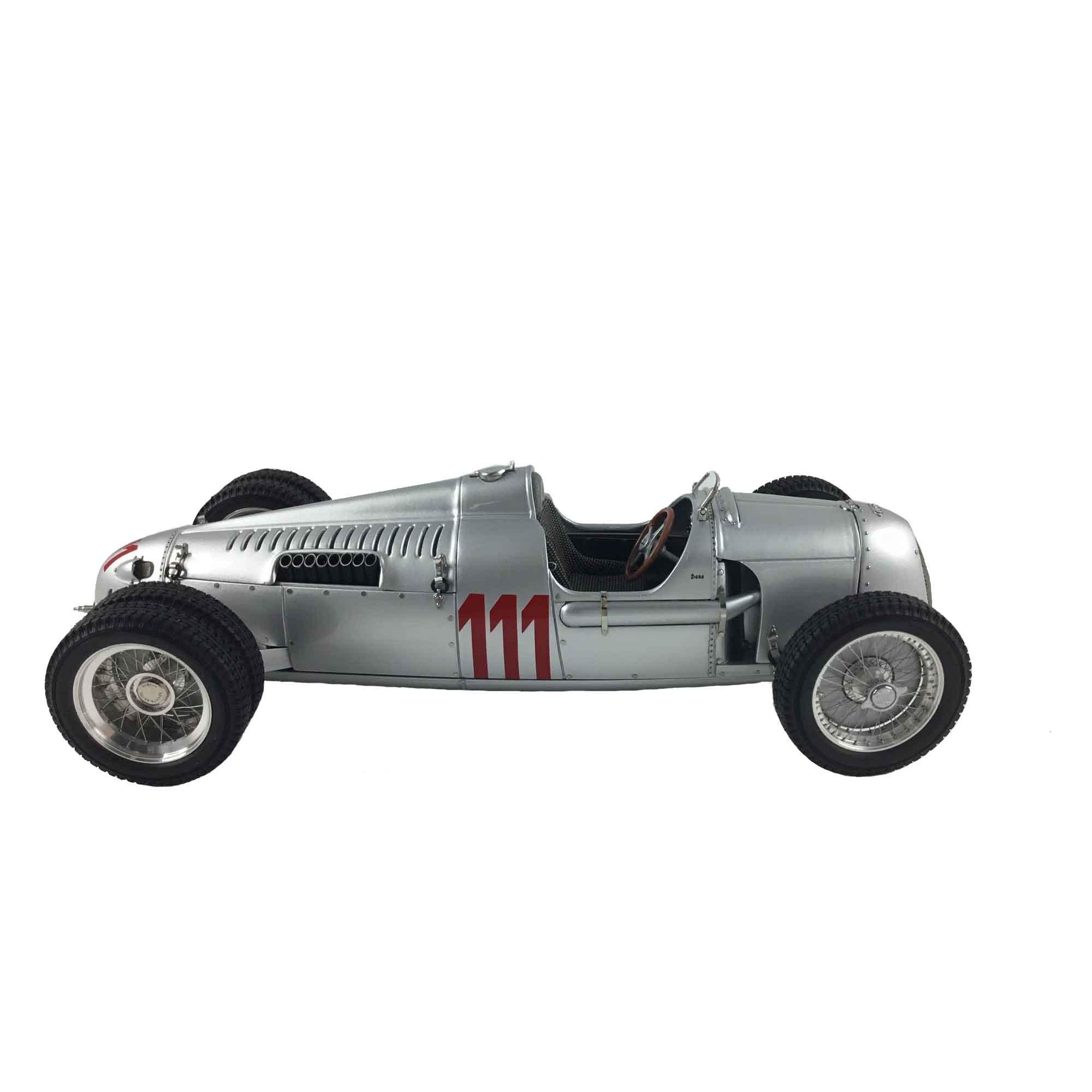 CMC-Classic Model Cars Auto Union Type C 1937 German Hillclimb #111 Struck Limited Edition Vehicle