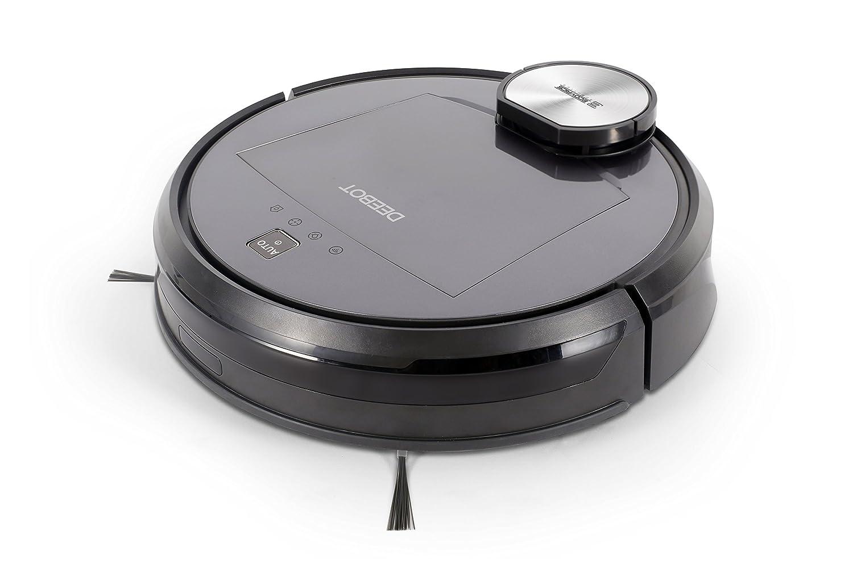 Ecovacs Deebot R95 Robot limpiasuelos con navegación inteligente y aplicación 56 Decibeles, negro: Amazon.es: Hogar