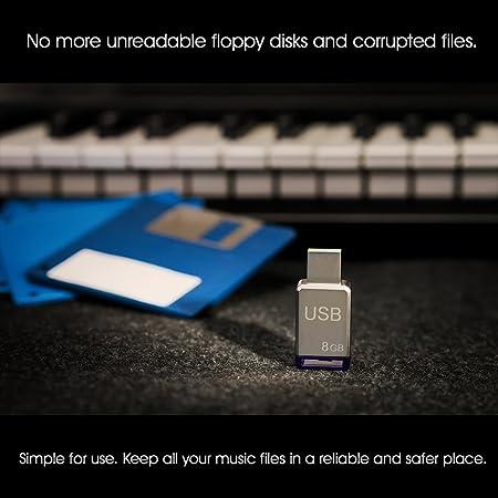 Amazon.com: USB Floppy Disk Drive Emulator for Yamaha Clavinova CVP 204/206/207/208/210: Musical Instruments