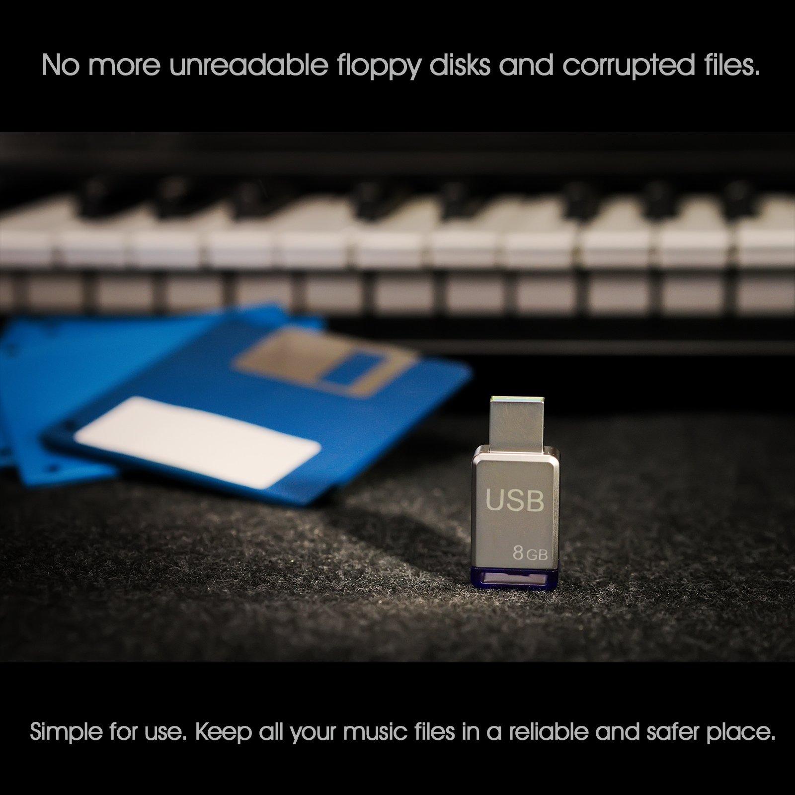 USB Floppy Disk Drive Emulator for Piano Yamaha Clavinova CVP 92/94/96/98 by Nalbantov Electronics (Image #2)