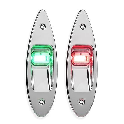 Amazon.com: LEANINGTECH - Par de luces LED de navegación ...