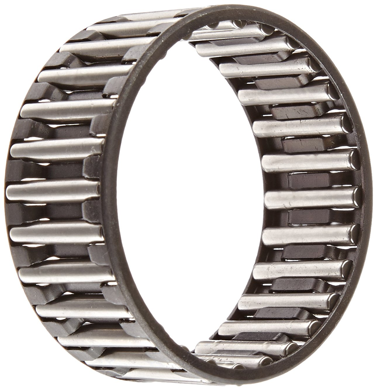 Steel Cage 63mm OD Single Row Metric INA K55X63X25B Needle Roller Bearing 25mm Width 8500rpm Maximum Rotational Speed Open End 55mm ID Cage and Roller