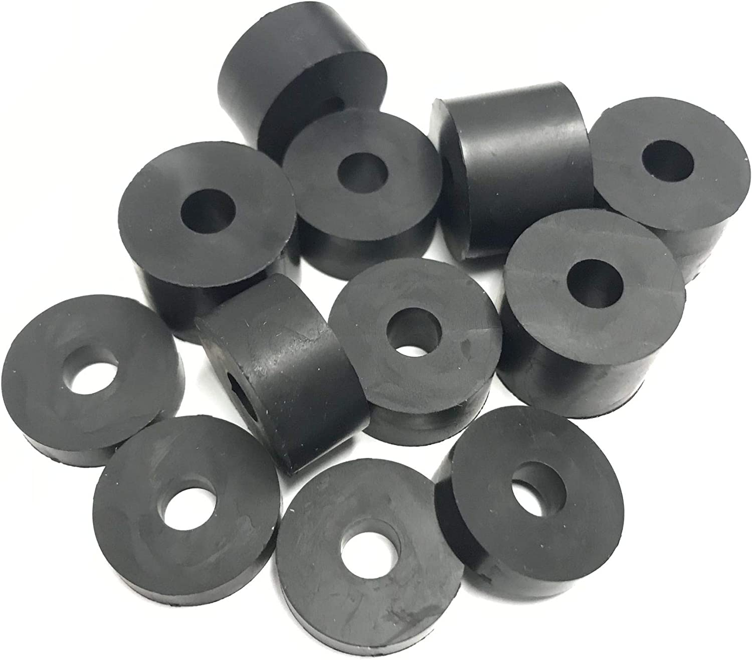 Rubber Spacers Standoff Washers 12 Pack 2 x 5mm M6 6mm 4 x 15mm 4 x 10mm