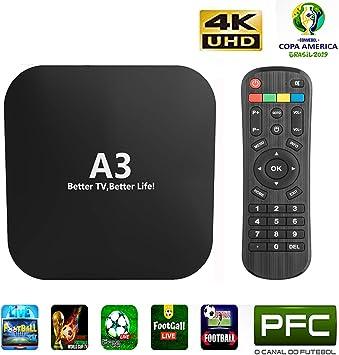 2019 IPTV brasileño A3 Box Better Than IPTV 8 basado en A2 HTV5 ...