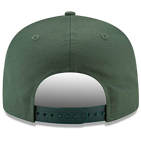 2f12446d Amazon.com : Green Bay Packers New Era Home Turf 9FIFTY Adjustable ...