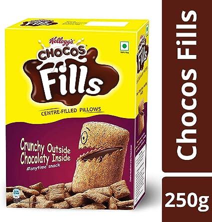 Kelloggs Choco Fills Chocolate Flavor, 250g