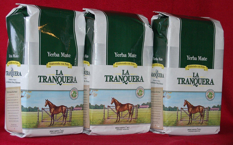 Yerba Mate La Tranquera - 3 bags of 2.2 Lbs each - 3 Kilos