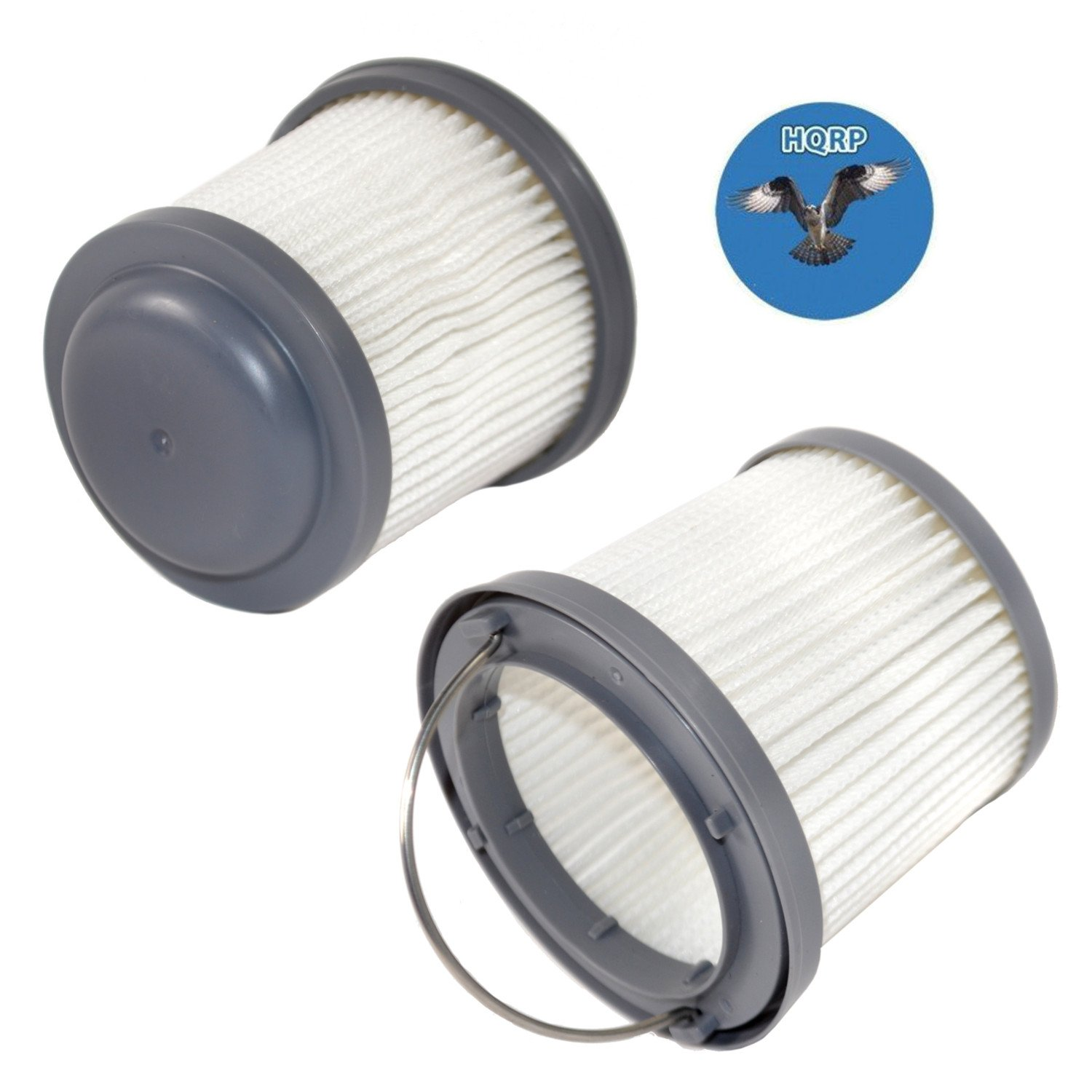 HQRP 2-Pack Washable Filter for Black & Decker BDH2000PL, BDH1600PL, BDH2020FLFH, BDH1620FLFH, BDH2020FLFH Flex Lithium Pivot Vac Vacuums Coaster 884667810111708