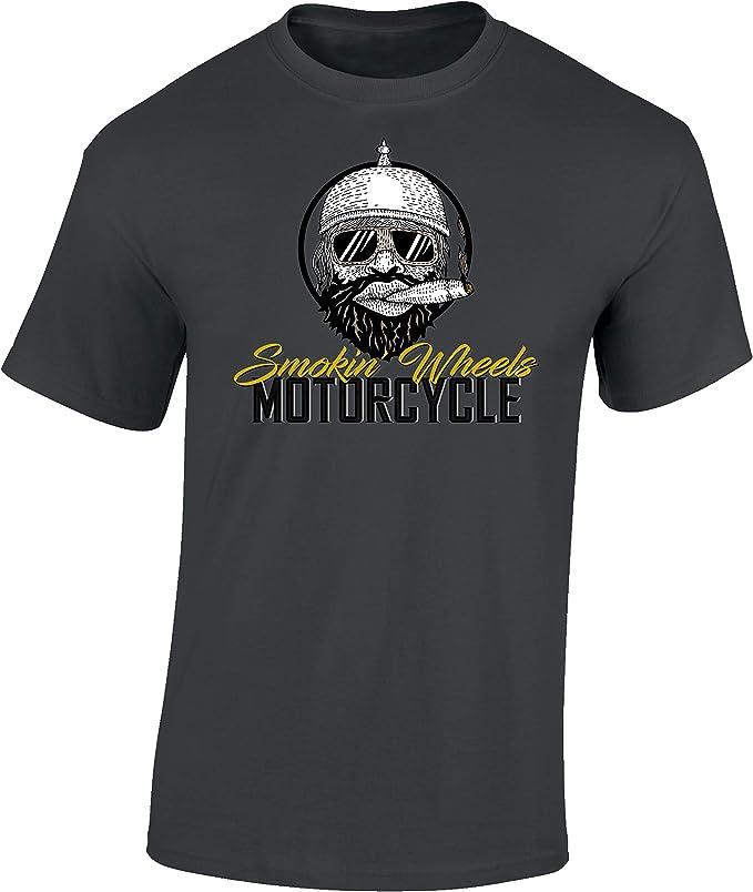 camiseta smoking wheels