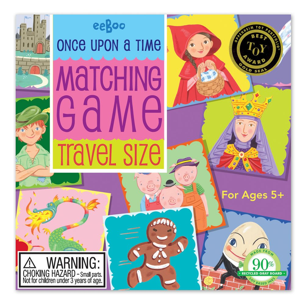 Once Upon a Time Travel Matching Game