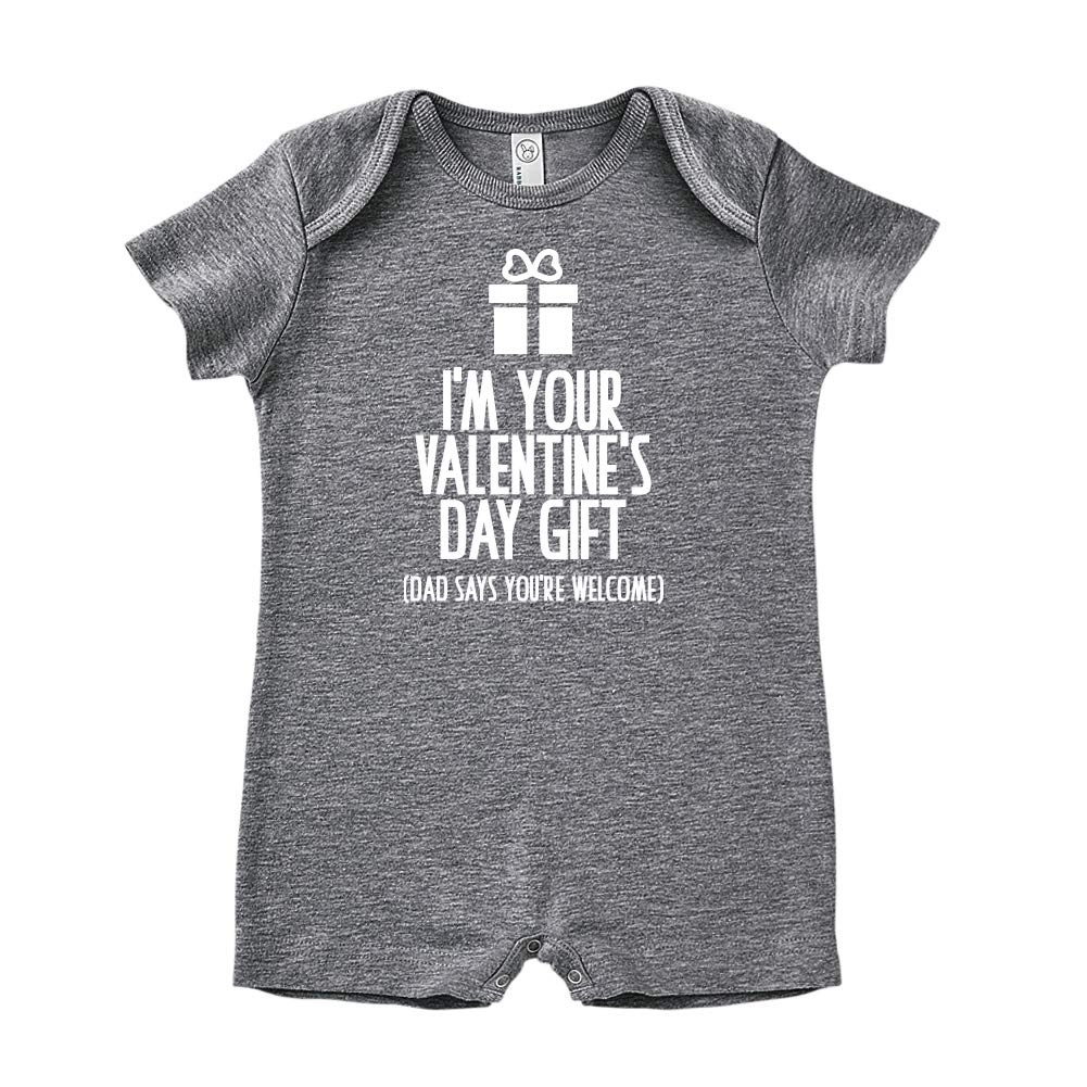 Dad Says Youre Welcome Mashed Clothing Im Your Baby Romper