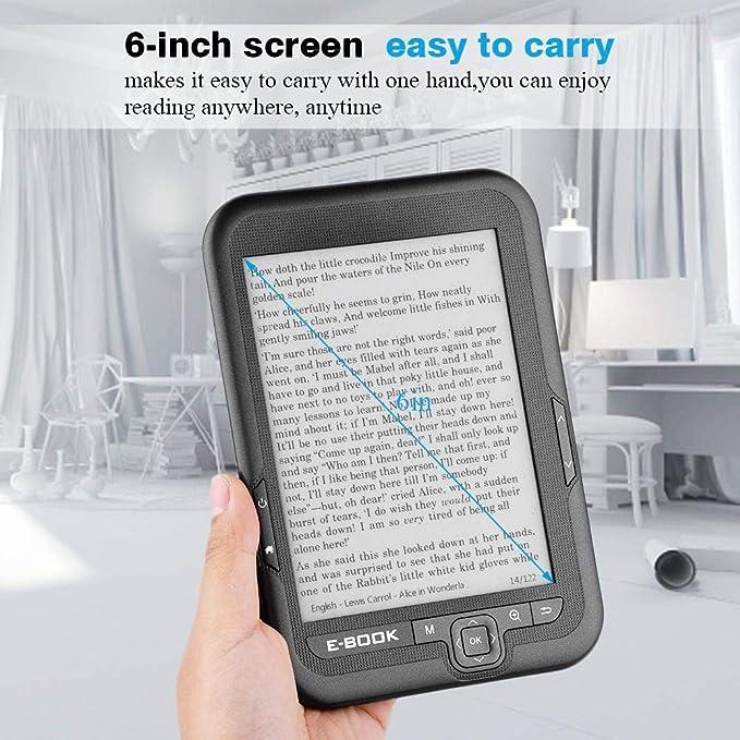 Vbestlife Electrónicos e-Book Lector de Libros Pantalla Táctil 6 ...