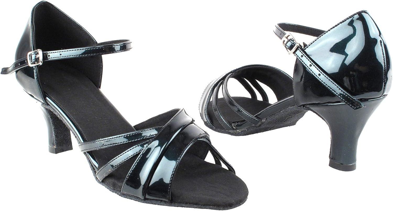 SERA6030 Pearl Black Size 8 1//2 3 Heel GP 50 ShadeS Wedding Dance Dress Shoes
