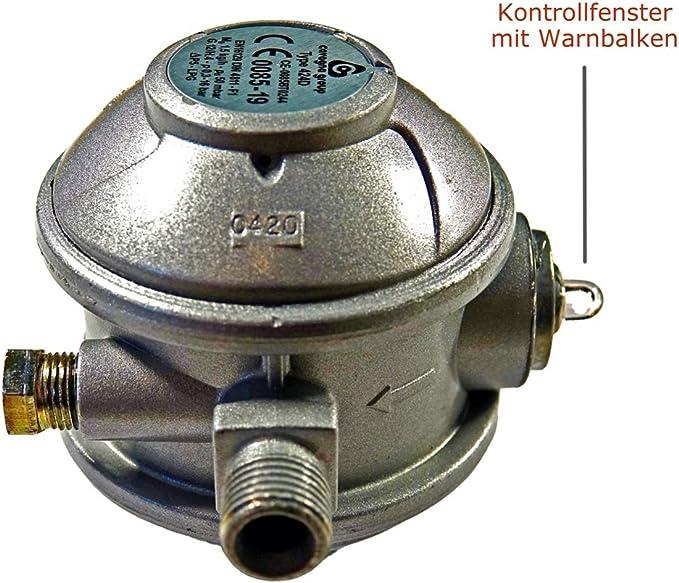 Regulador de gas de 50 mbar para cocina de gas, nevera de gas ...