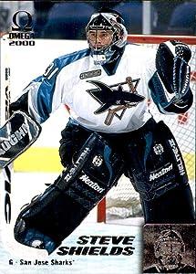 1999-00 Pacific Omega #210 Steve Shields SAN JOSE SHARKS