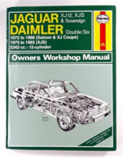 jaguar xj12, xjs and daimler sovereign double six owner's workshop manual