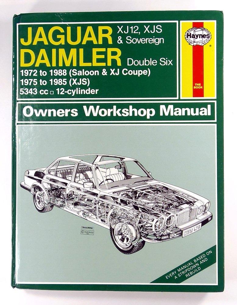 jaguar xj12 xjs and daimler sovereign double six owner s workshop rh amazon com