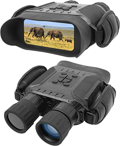 Bestguarder NV-900 4.5X40mm Digital Night Vision Binocular with Time Lapse Function Takes HD Image & 720p Video