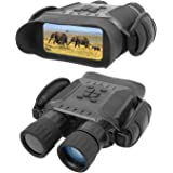 """Bestguarder NV-900 4.5X40mm Digital Night Vision Binocular with Time Lapse Function Takes HD Image & 720p Video with 4"""" LCD W"""