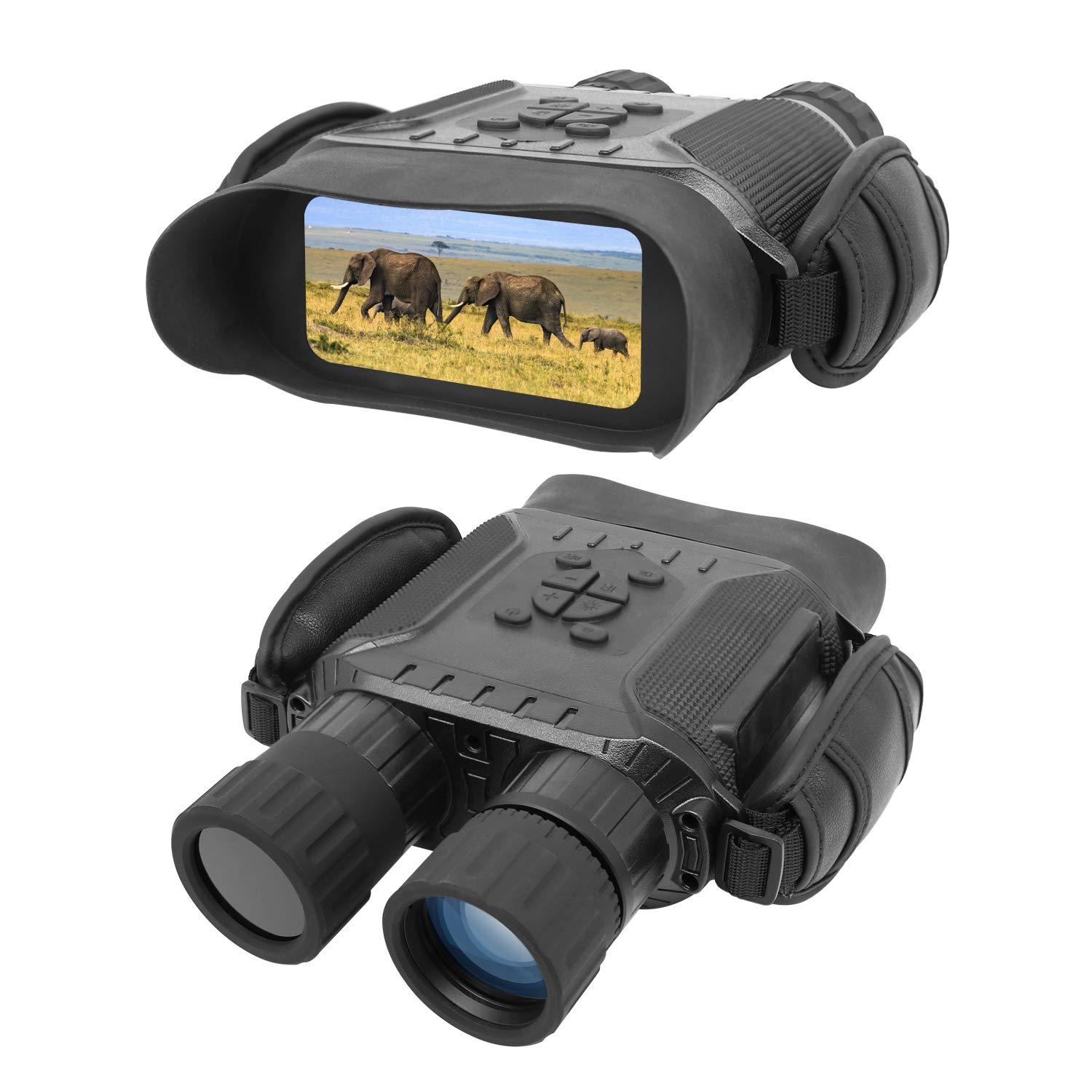Bestguarder NV-900 4.5X40mm Digital Night Vision Binocular with Time Lapse Function Takes HD Image 720p Video with 4 LCD Widescreen from 400m 1300ft in The Dark W 32G Memory Card