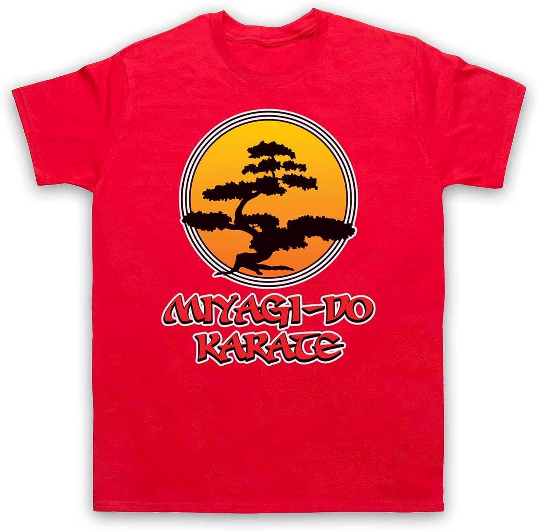 Inspirado por Karate Kid Miyagi Do Logo Bonsai Tree No Oficial Camiseta para Hombre