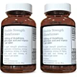 Double Strength Glutathione 1000mg x 120 Tablets (60 tablets per bottle, 2 bottles). With 500mg Glutathione, 300mg ALA…