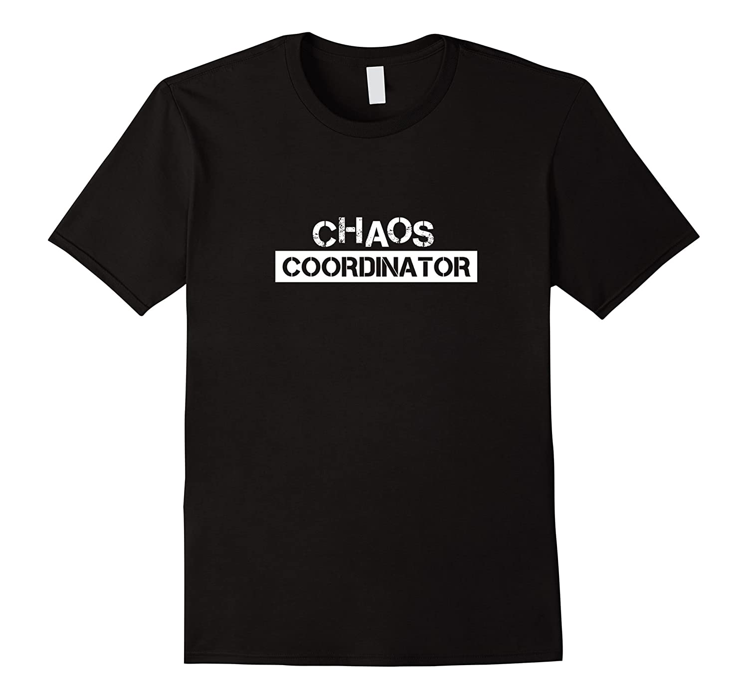 Chaos Coordinator T Shirt Hand Lettered Happy Family Tshirt-Vaci