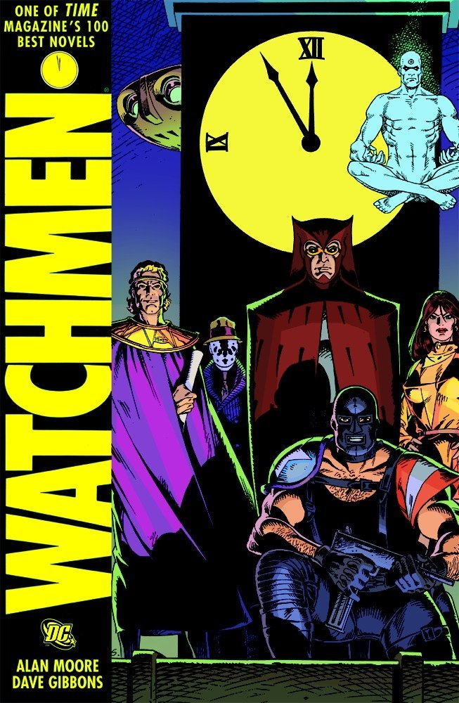 Image result for watchmen comic book