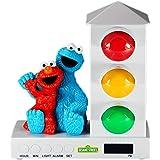 Sesame Street Stoplight, Alarm Clock for Kids, Elmo and Cookie Monster
