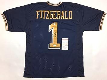 new arrival 288b0 09e05 Autographed Larry Fitzgerald Jersey - PITT COA #S60983 - JSA ...
