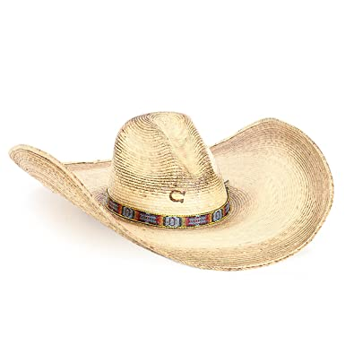 Amazon.com  Charlie 1 Horse Hats Womens Coyote Palm Natural  Clothing 0ae720b4d1b4