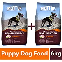 Meat Up Puppy Dog Food, 3 kg