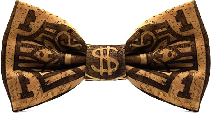 Territorial Pajarita de corcho Dollar. Colección de moda hombre ...
