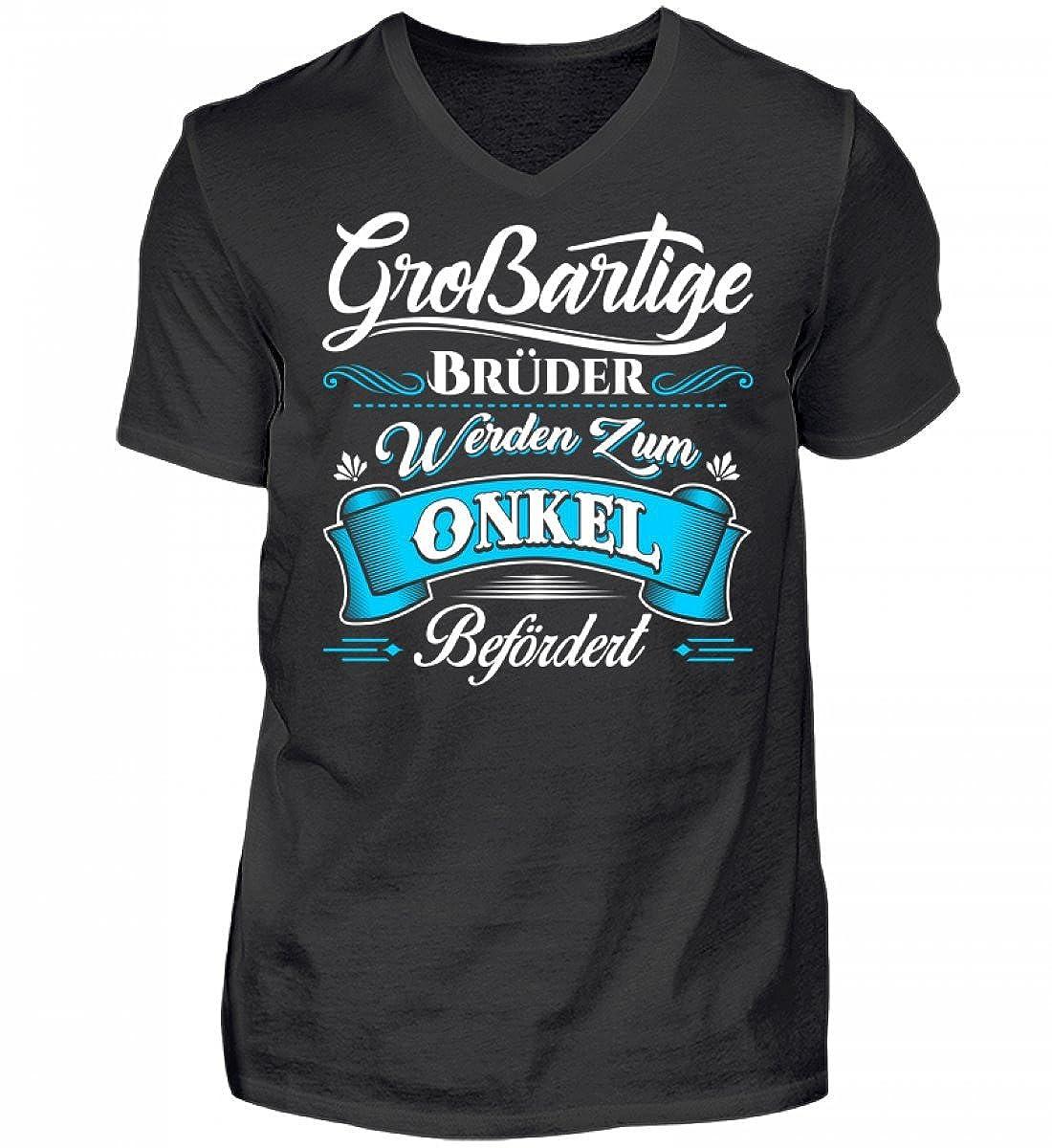 Hochwertiges Herren V-Neck Shirt - Großartiger Bruder Onkel Neffe ...